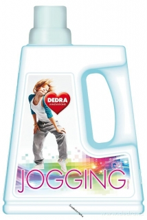 JOGGING gel 2in1 prací gel na oděvy po sportu 1500 ml
